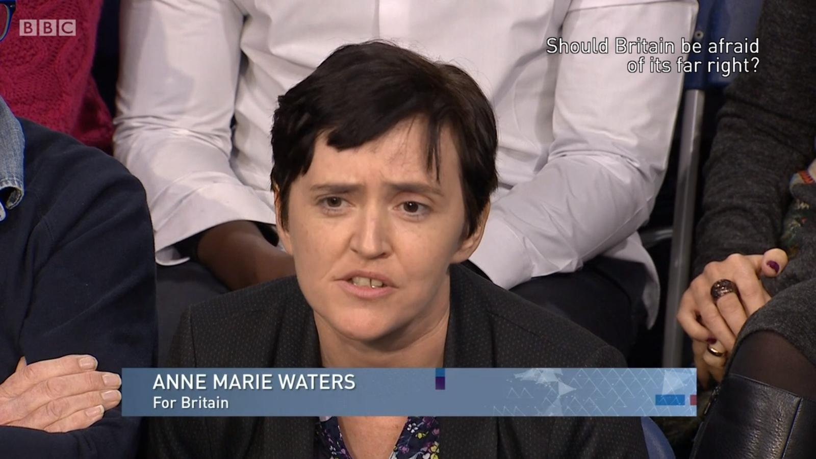 Anne Marie Waters BBC The Big Questions