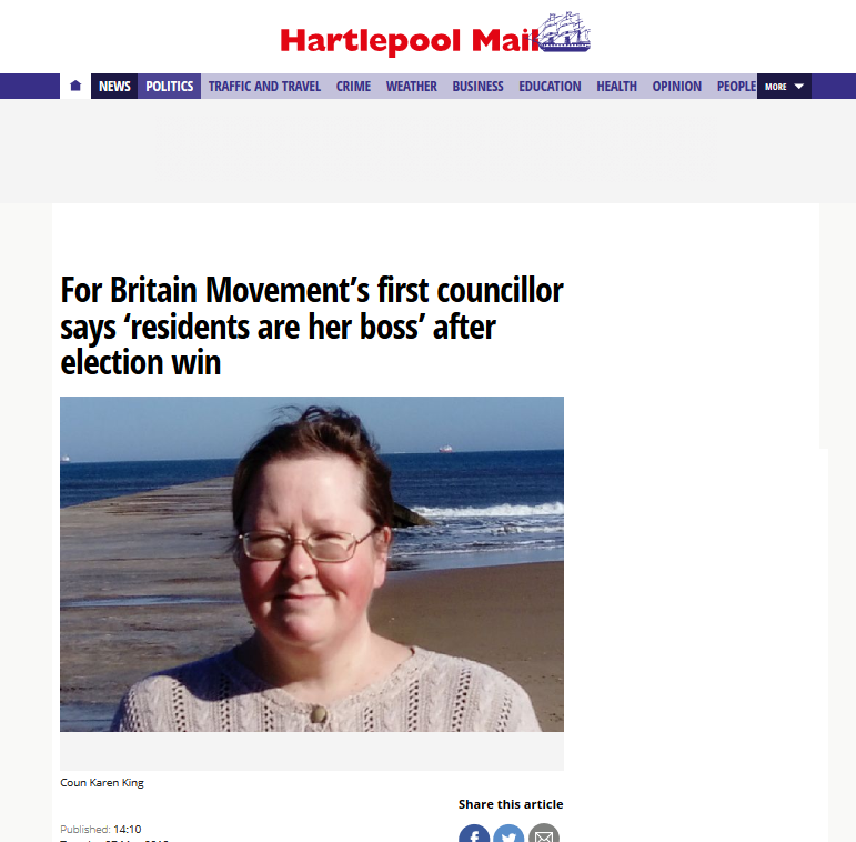 Hartlepool Mail - Karen King