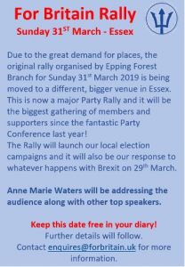 Rally in Essex