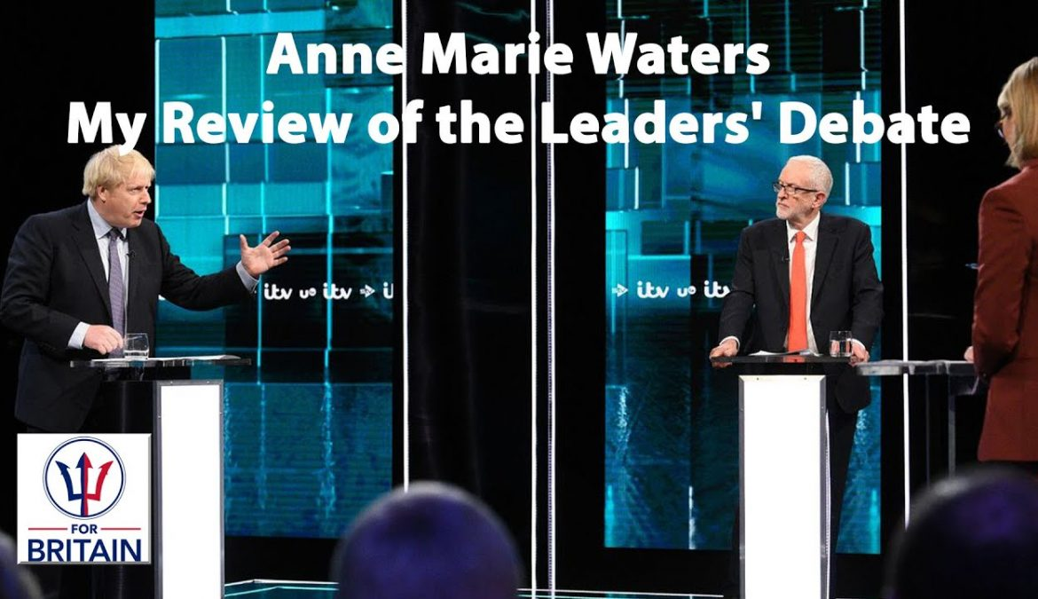 My Review of the Leaders' Debate – Anne Marie Waters