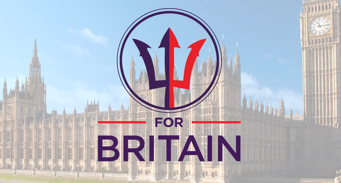 Become a For Britain Councillor in the May 2020 Local Elections